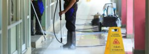 commercial pressure washing Houston companies