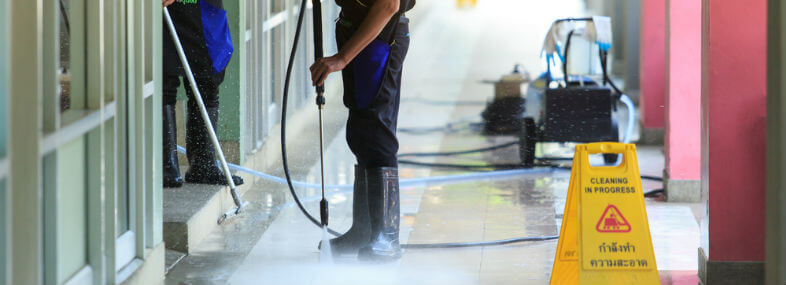 Commercial Pressure Washing Company in Houston, TX