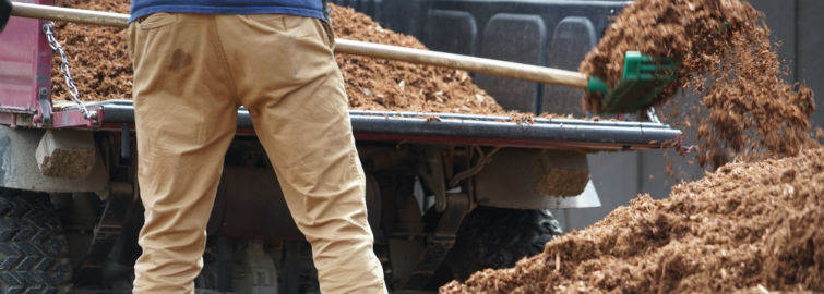 Mulching Services by Houston Landscaping Company
