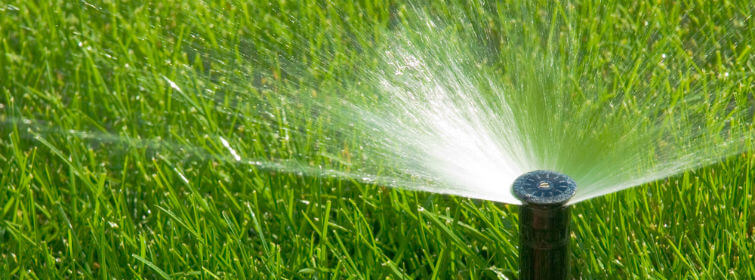 How long should sprinklers run in Houston?