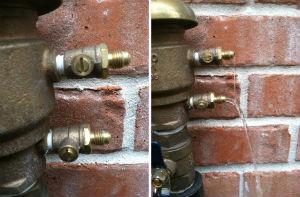 Irrigation Backflow Preventer Freeze Protection