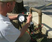 irrigation backflow testing Houston