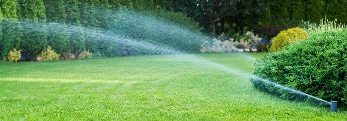 Water Sprinkler System Installation Houston