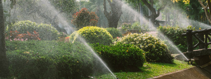 lawn irrigation services The Woodlands, TX