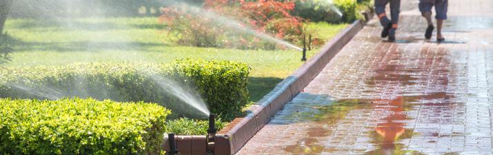 lawn sprinkler system Spring, TX