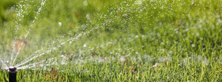 Irrigation System Water Meter