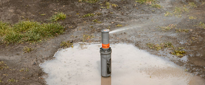 Leaks in a Sprinkler Valve