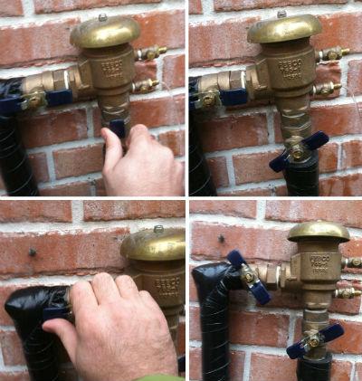 winterize sprinkler system Houston